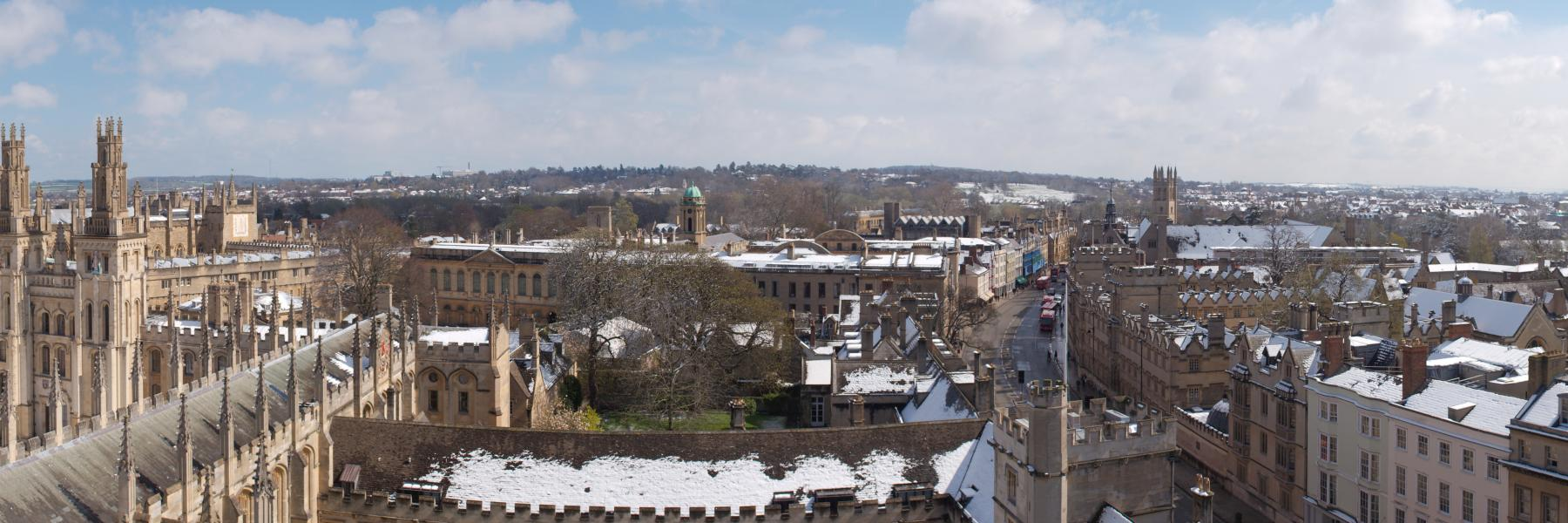 oxford city skyline